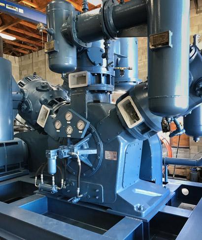Rebuilt Belliss and Morcom Compressor